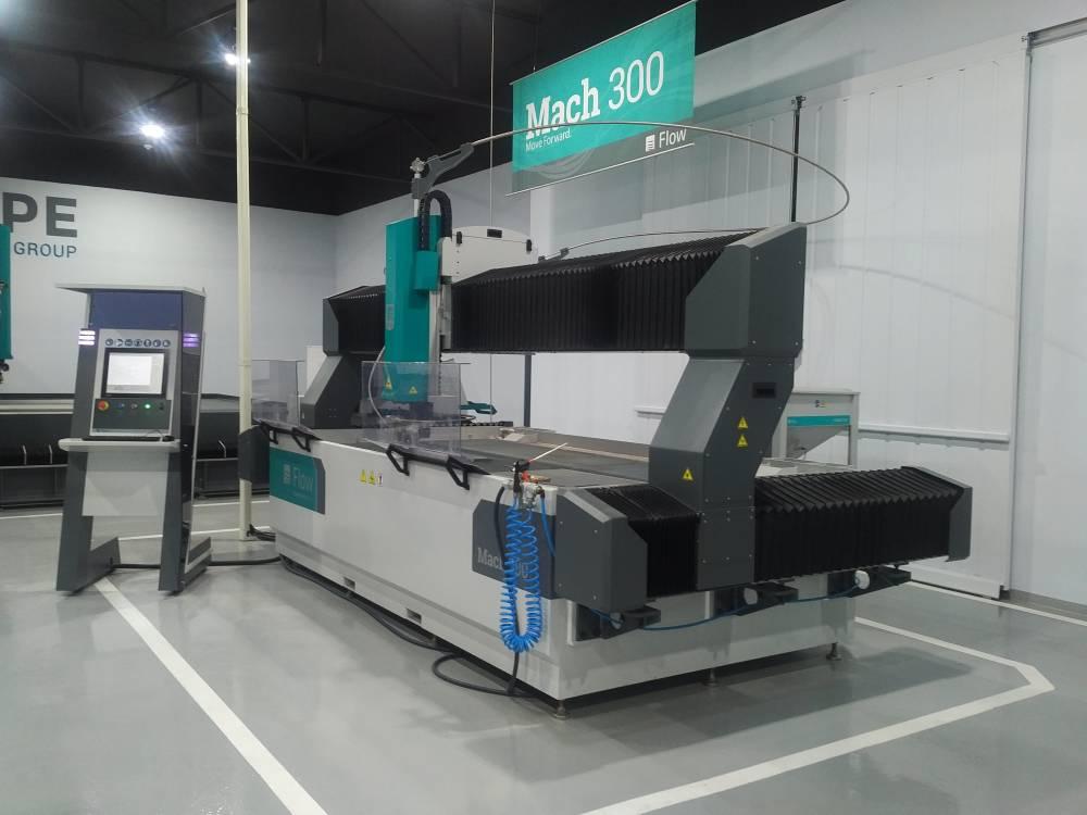 FLOW Mach 300 Waterjet Cutting Machine - Performance