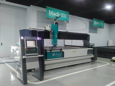 Flow Mach 500 Waterjet Cutting Machine