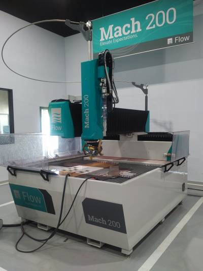 Small Table Mach 200 Waterjet Cutter