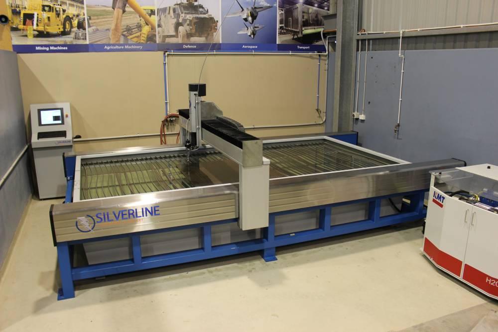 Silverline - Light Water Jet Cutting Machine - Performance