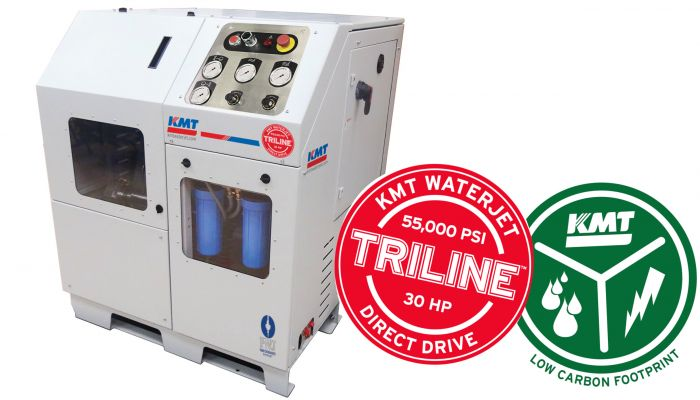 Triline Direct Drive 55,000psi High Pressure Pump
