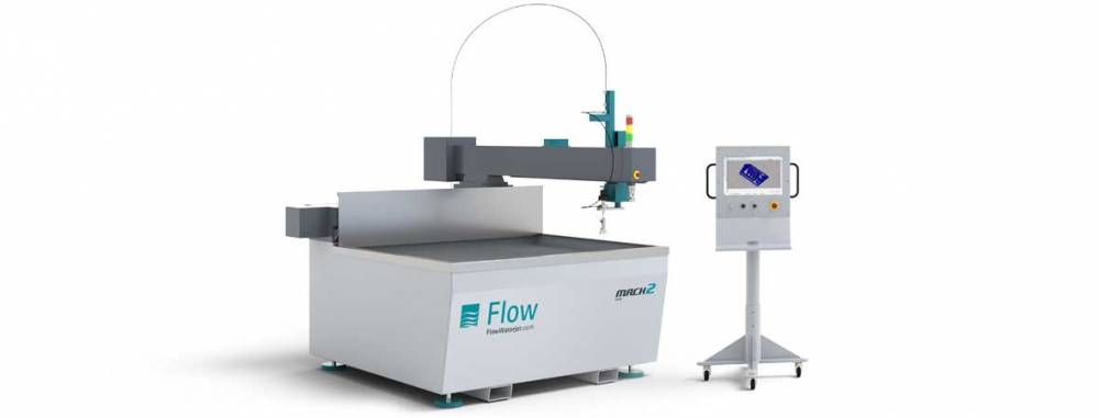 FLOW Mach 100 Waterjet Cutting Machine - Performance