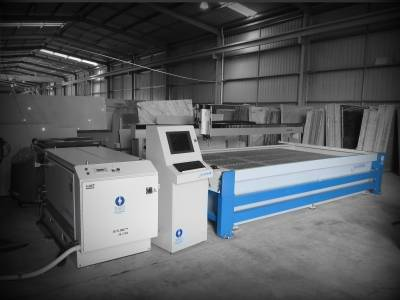 Silverline Waterjet in Marble Shop, Adelaide SA
