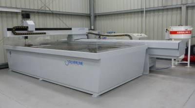 Silverline Cutting System wiht KMT Pump, IDE III Cutting Head & KMT Abraline