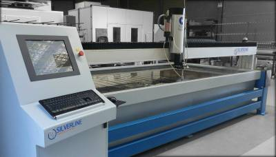 Silverline Glass Water Jet Cutter