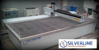 Silverline Machine in a Glass Processing Shop, Perth WA