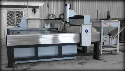 Metal Water Jet Cutter - Silverline
