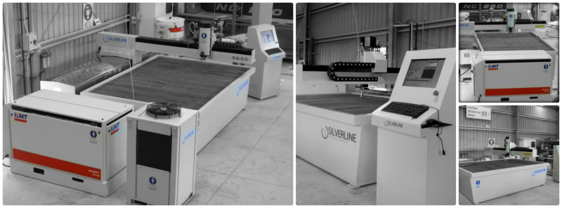 Silverline Waterjet Cutter at Stone Effects, QLD