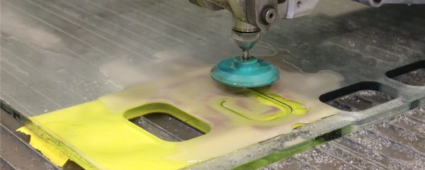 Waterjet Cutting Glass
