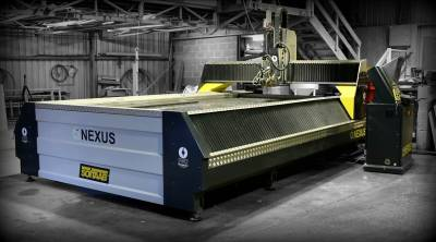 Nexus Waterline waterjet cutting system