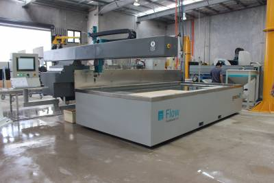 Mach 100 Waterjet installed in QLD
