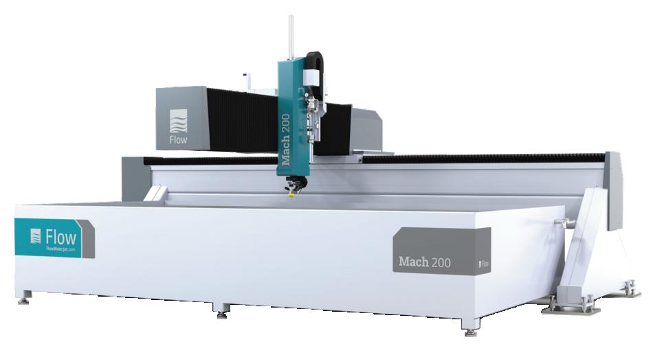 FLOW Mach 200 Waterjet Cutting Machine - Performance