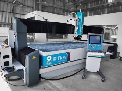 Mach 500 5 Axis Waterjet Installation - September 2020