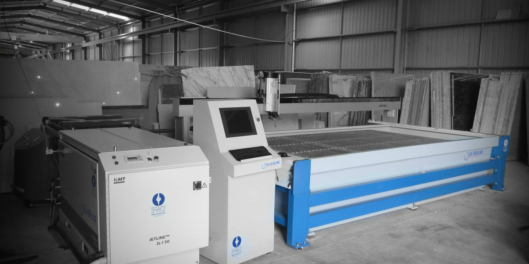 Silverline Waterjet Machine image